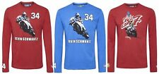 Valore T-shirt X3 Maniche Lunghe Moto MotoGP JOB LOTTO KEVIN CAL 34 NUOVO! piccoli