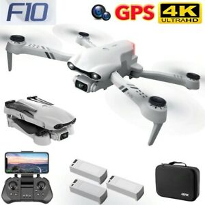 New F10 RC Drone 4K HD Dual Camera GPS 5G WIFI Wide Angle FPV RC Quadcopter Toys