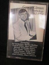 George Giroux Anthology 1962-1994 Cassette Tape