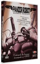 Coffret 2 DVD Panzer robot Kishin Heidan, OAV, japanime,Français, Collector Neuf