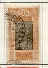 French Guinea 1913-39 Early Issue Fine Used 50c. 193474