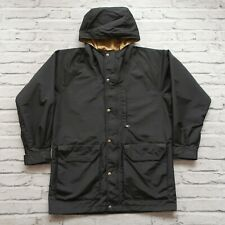 New Monitaly Mountain Parka Jacket Size M Made in USA Black