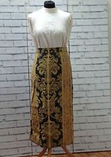 Jacquard Formal Long Pencil Maxi Skirt Size M