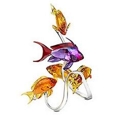 Swarovski Figurine Fish Perch Sea Goldie 1083778 With