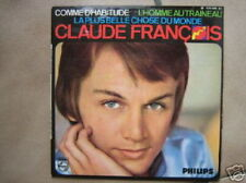 CLAUDE FRANCOIS EP FRANCE COMME D'HABITUDE (BEE GEES)