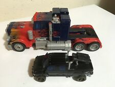 Transformers Movie Hunt for Decepticons Ironhide and Optimus Prime Leader Lot