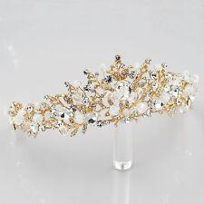 Clear Austrian Crystal Rhinestone Tiara Crown Wedding Bridal Pageant 05679 GP