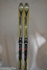 SKI SEMI  PARABOLIQUE HEAD CYBER  X  TAILLE 180 CM + FIXATION TYROLIA SP 8 FIX