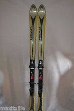 SKI SEMI  PARABOLIQUE HEAD CYBER  X  TAILLE 170 CM + FIXATION TYROLIA SP 8 FIX