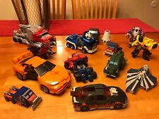 Vintage Lot of 10 Transformers +MORE