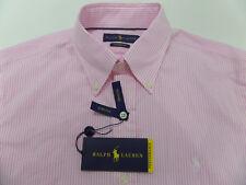 Ralph Lauren Medium Button Front Performance Stretch Wicking Shirt $98.50