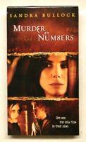 Murder by Numbers - Sandra Bullock (VHS, 2002)