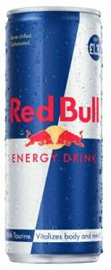 Red Bull Energy Drink, Taurine, Caffeine Drink 250ml