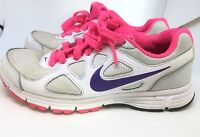 Nike Revolution Women's Size UK 5 EU 38.5 Running Shoes Trainers Gym White Pink