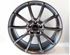 2005-2016 Ford Mustang Gunmetal Black Mamba Wheels Rims 20x9 20x10 Staggered