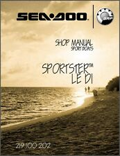 2005 Sea-Doo Sportster LE DI Jet Boat Service Repair Shop Manual CD