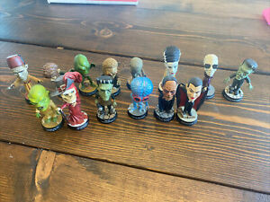 Universal Studios Monsters Little Big Heads Great Condition!!!