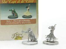 Figurine métal Cape et de Crocs (De) Don Lope & Hermine (non peinte)