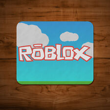 Roblox TAPPETINO MOUSE PC MAC APPLE videogame video game regalo blocchi 5mm Thick DESK PAD