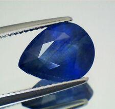 Gioielli e gemme di zaffiro blu a goccia