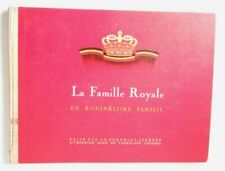 La Famille Royale Album Incompleto -3 Chocolat Jacques