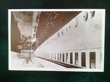 Postcard RMS Titanic 90th Anniversary 1912-2002 Rembrandt no4 Saloon gangway