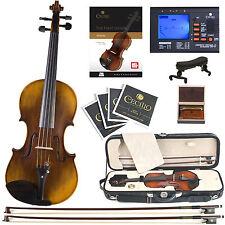 Cecilio 4/4 CVN-600 Oil Rubbed 1 Pc Back Violin aged   7yrs