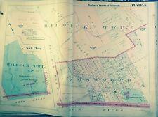 1906 NORTH PITTSBURGH PA EMSWORTH & KILBUCK TOWNSHIP GM HOPKINS COPY MAP ATLAS