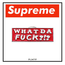 More details for supreme wdf pin badge