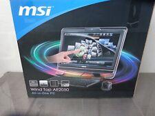 MSI Wind Top AE2250 All In One PC Win 7 MS-AA53 AE2050 1.6Ghz 1Tb HDD 4Gb RAM