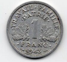France - Frankrijk - 1 Franc 1943