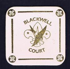 Traded at World Jamboree Blackwell Court Coaster Leather 600818