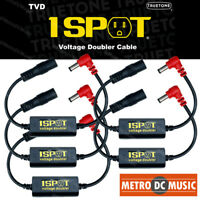 5-Pack Truetone TVD Pedal-Voltage-Doubler Cable 1-Spot 18V 24V No Switch Noise