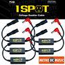 5-Pack Truetone TVD Pedal-Voltage-Doubler Cable 1-Spot 18V 24V No Switch Noise