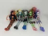Mattel Monster High Doll Lot Of 5 OOAK