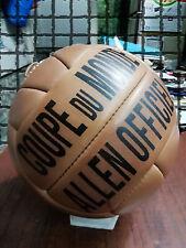 Coupe Du Monde   Allen Official Ball   Vintage Classic Soccer   World Cup 1938