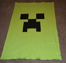Twin Comforter Minecraft Creeper and Enderman