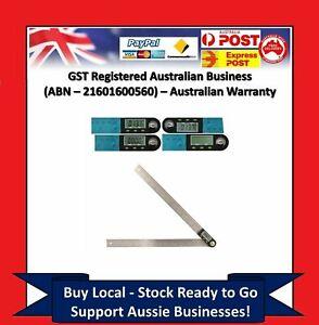 600mm Digital Angle Finder Meter Protractor Goniometer Ruler 360° Measurer CY