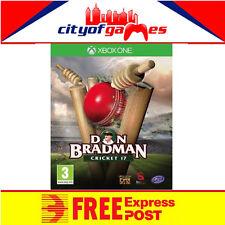 Don Bradman Cricket 17 Xbox One Game New & Sealed  Free Express Post