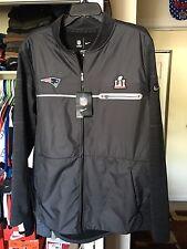 Nike NFL Super Bowl LI New England Patriots Jersey Jacket: Medium (NWT) SZ/L