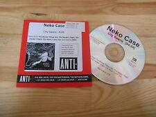 CD Indie Neko Case - City Swans (1 Song) MCD Promo ANTI- cb