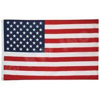 New 2' x 3' FT USA US U.S. American Flag Polyester Nylon Stars Brass Grommets