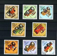 coollezione MONGOLIA lotto 8  FRANCOBOLLI trasporti Stamps - Timbres francobollo