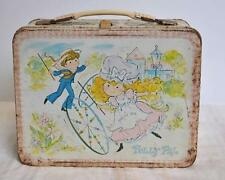 AF Vintage 1974 Leon Jason King-Seeley Metal Polly Pal Lunch Box & Pink Thermos