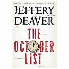 The October LIst by Jeffrey Deaver