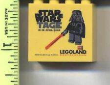 LEGO Yellow Brick 2 x 4 x 3 with Legoland Deutschland Star Wars Tage 2009 Promo