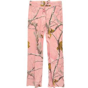 Realtree Girl Pink Camo Ladies Casual Pants