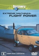 C2 BRAND NEW SEALED Extreme Machines Flight Power (DVD, 2004) Discovery Channel