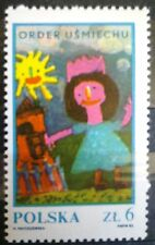 POLAND STAMPS MNH Fi2729 Sc2582b Mi2877- The Chapter of Smile's Order, 1983, **