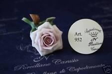 Rosa piccola bomboniera matrimonio Capodimonte